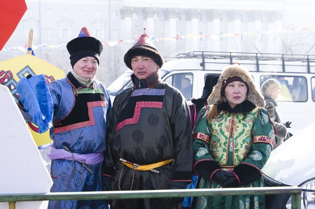 Mongolian Buryat People
