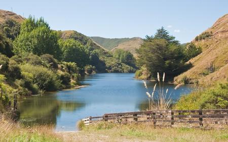 Lake Rotorangi, Taranaki, New Zealand
