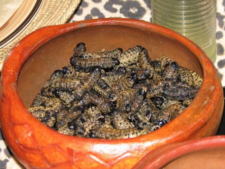 Mopane dish