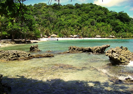 La Miel is one of the best beaches around Capurganá and Sapzurro
