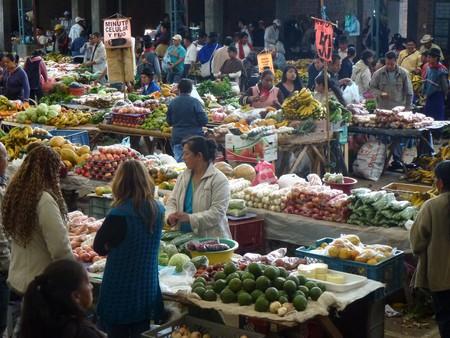 Colombian food market