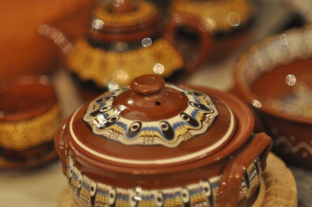 Gyuveche, a special Bulgarian pot for cooking