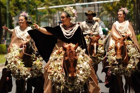 Pa'u riders of Ni'ihau