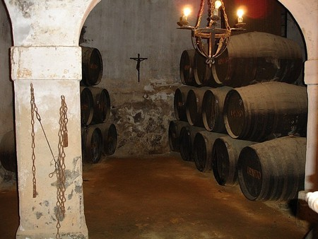 The Tio Pepe bodegas in Jerez de la Frontera, Spain