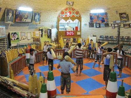 Saheb A Zaman Club Zurkhaneh in Yazd