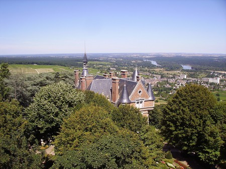 Sancerre from the sky