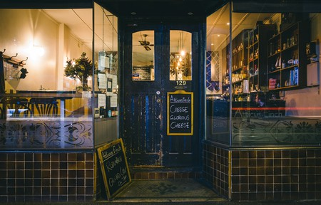 The welcoming exterior of this cosy Lygon Street bar