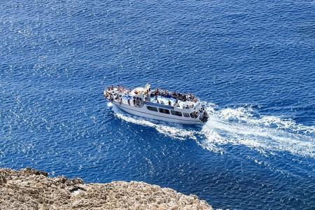 Dive into the Mediterranean sea with a boat ride