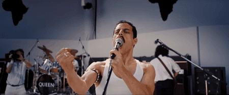 """Rami Malek as Freddie Mercury in """"Bohemian Rhapsody""""   © 20th Century-Fox"""