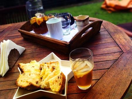 Kick back at a café in Poltava