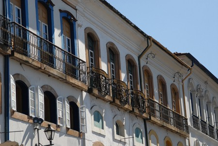 Ouro Preto in Minas Gerais is famous for its colonial and baroque architecture