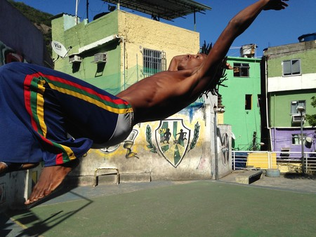 Capoeira, a Brazilian martial art-meets-dance