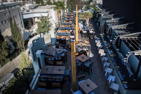 District's rooftop bar