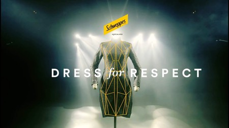 The Dress for Respect campaign by Schweppes