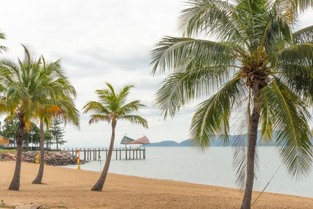 Pier and Magnetic Island views from the Strand