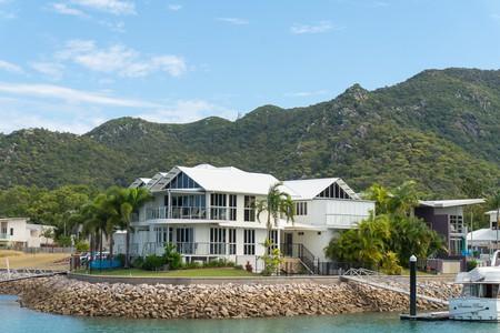 Marina views at Waters Edge Townhouse