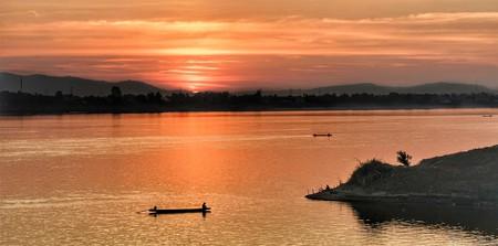 The Mekong at Dusk