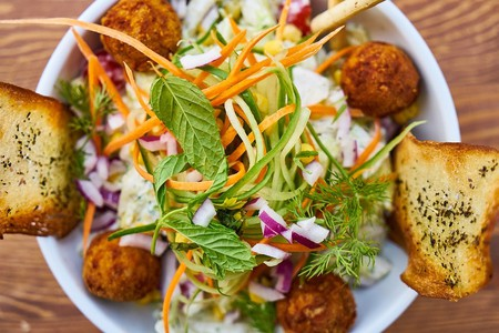 Find fresh and healthy vegetarian food at these spots in Rouen
