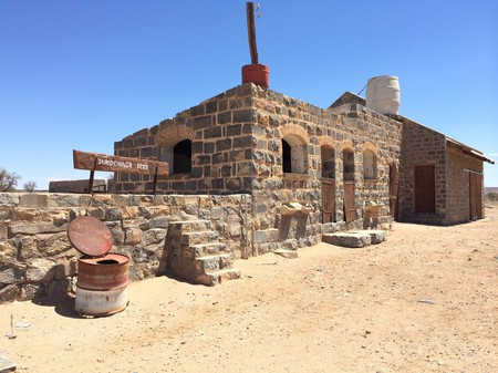 Early German architecture is still prevalent in Namibia