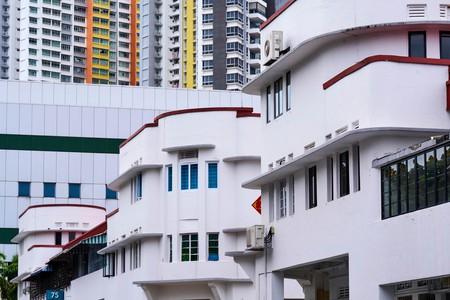 Art Deco district of Tiong Bahru, Singapore.