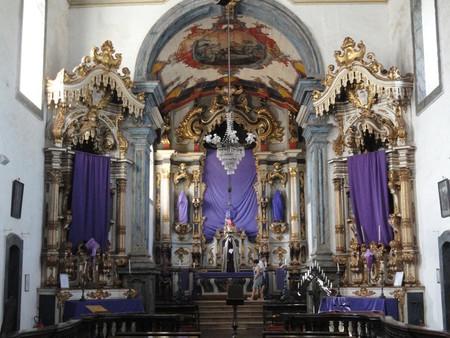 The Church of Nossa Senhora do Carmo de Sabará