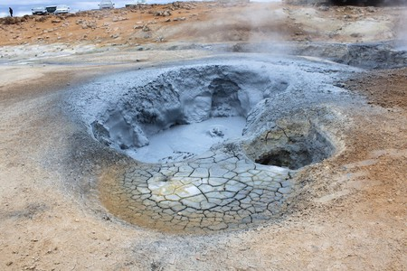 Geothermal Activity in Iceland