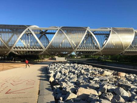 The Arganzuela footbridge, Madrid