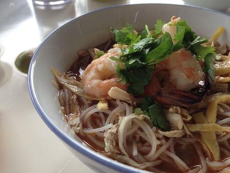 The signature dish; Laksa Sarawak