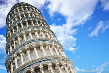 Still standing: the Leaning Tower of Pisa