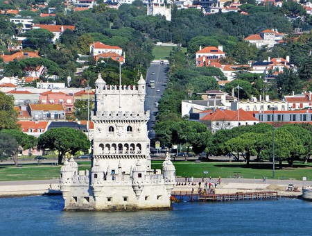 The garden by the Belém Tower is one of the spots hosting Outjazz 2018