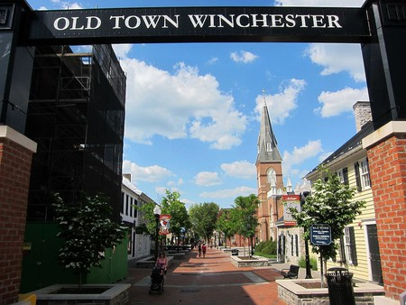 The pedestrian mall in downtown Winchester is the location of several of the city's best food offerings.