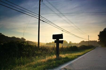 Mailbox on a street