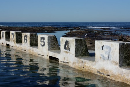 Merewether Pool in Newcastle