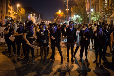 Women in Santiago march against harassment and abuse | © Migrar Photo