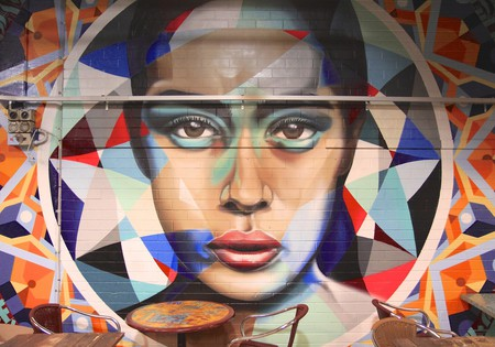 Mural at the Adelaide Central Market