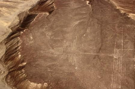 The Nazca Lines' iconic hummingbird