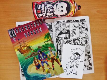 The Mundane Kid is a comic strip by Bwanga 'Benny' Kapumpa and London 'Inkerblood' Kamwendo