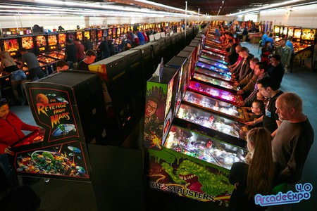 The Museum of Pinball opens annually for Arcade Expo