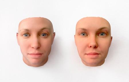 Radical Love, DNA portrait of  Chelsea Manning, by Heather Dewey-Hagborg