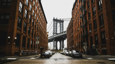 Dumbo has great views of Brooklyn and Manhattan bridges.