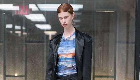 New York model Sarah Abney
