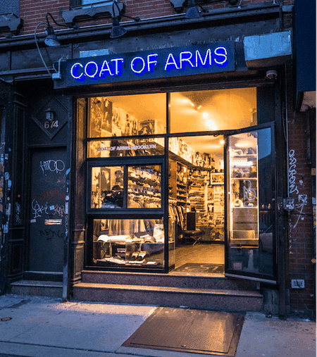 Greenpoint's Coat of Arms skate shop