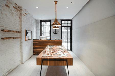 Inside Miansai's SoHo boutique