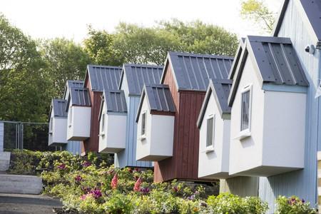 Social Bite Village for homeless people In Edinburgh