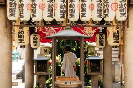 Hozenji Buddhist temple