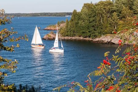 Sailing through the Finland Archipelago