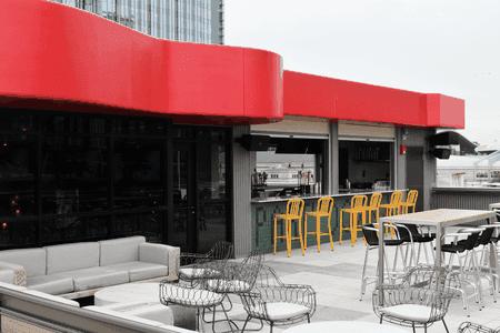 Nashville Underground's rooftop bar