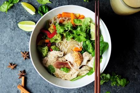 Vegan noodles.