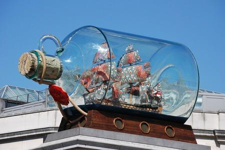 Yinka Shonibare's 'Nelson's Ship in a Bottle'