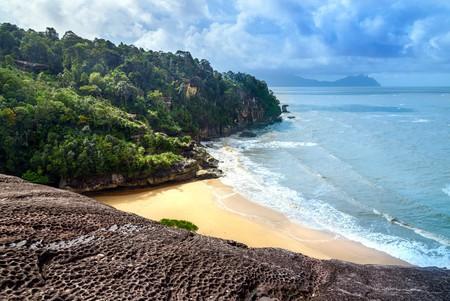 Beach view in Bako National Park
